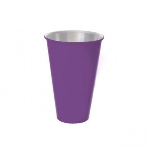 Vaso de Alumínio - Roxo