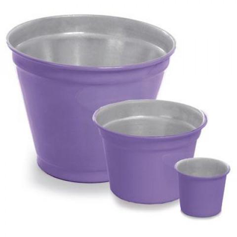 Vaso de Alumínio - Violeta Lilás