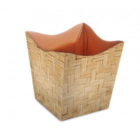 Cachepot P - Bambu Trançado