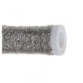 Arame Decorativo Ondulado - Prata