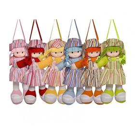 Boneca Gigi Vestido Listrado - 6 unidades