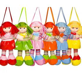 Boneca Liza Vestido Liso com Coração - (6 unidades)