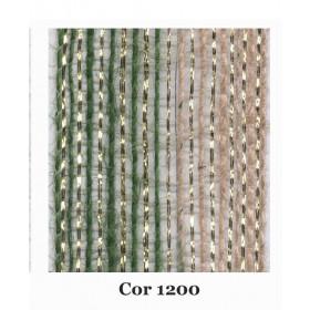 Fita de Juta - Degradê Ouro - Verde Oliva | Natural (7638-1200)