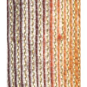Fita de Juta - Degradê Ouro - Marrom / Pessego  (7638-660)
