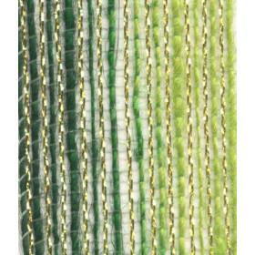 Fita de Juta - Degradê Ouro - Verde Oliva / Verde Lima (7638-390)