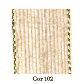 Fita de Juta - Natural/Ouro (7938-102)