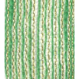 Fita de Juta - Verde Bebê / Ouro (7520-210)