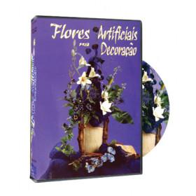 DVD Flores Artificiais na Decoracão