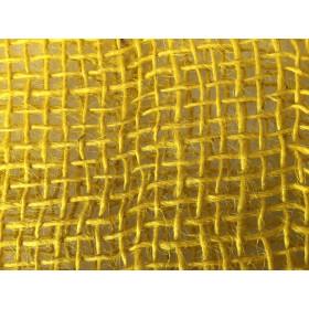 Tela de Juta 145 - Trama Aberta - Amarelo (cor 170)