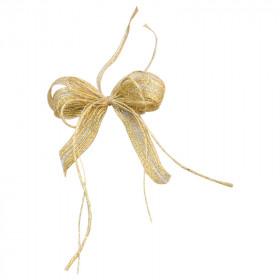 Laço Duplo P - Natural | Ouro