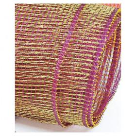 Tela Decorativa - Roxo   Dourado