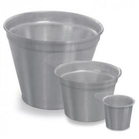 Vaso de Alumínio - Crisântemo