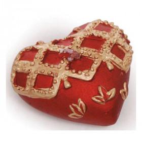 Vela Decorativa - Corações