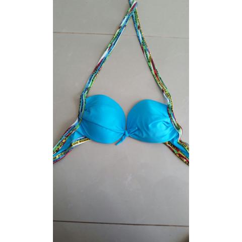 Bojo Meia Taça Azul Piscina Viés Bahia GG
