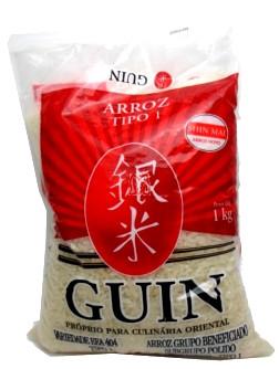Arroz Guin Culinária Oriental 1kg