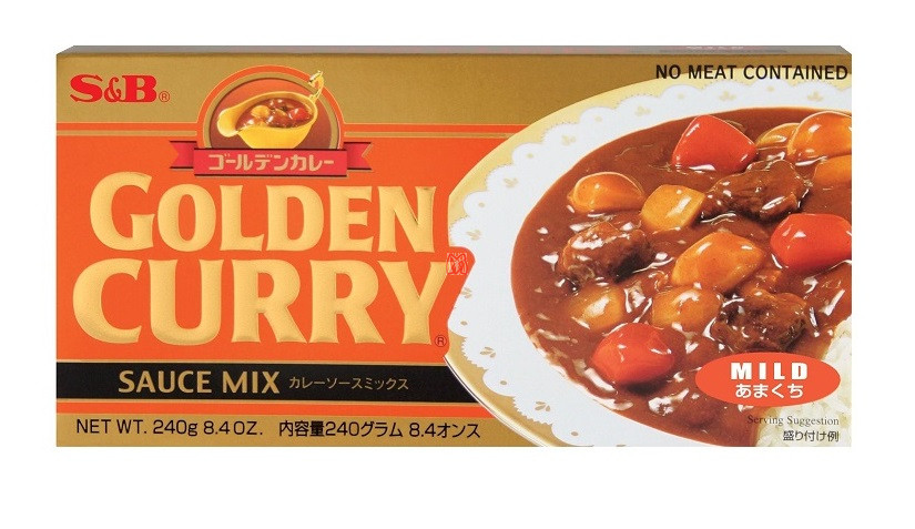 CURRY SB GOLDEN SUAVE 100 g