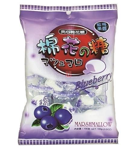 Marshmallow Importado Blueberry
