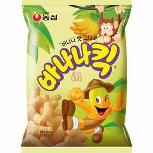 Salgadinho Coreano de banana