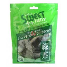 BALA DE ALGAS COM CHÁ VERDE E COLÁGENO Sweet Jelly