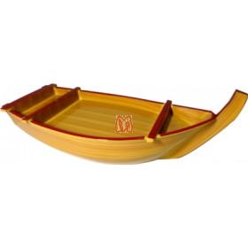 Barca para sashimi e sushi tradicional