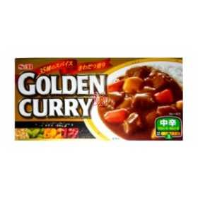 Curry japonês gold médio SB 200 g