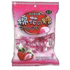 Marshmallow recheado morango