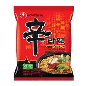 Lamen Shin Ramyun Hot Spicy - Nong Shim 100g
