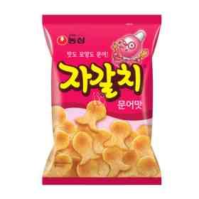 Tako Chips salgadinho sabor de polvo Nong Shim 60g