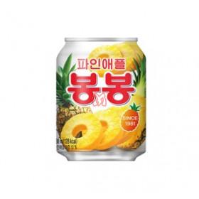 Suco de abacaxi coreano com pedaços da fruta 238ml