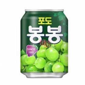 Suco de uva verde com pedaços Bombom