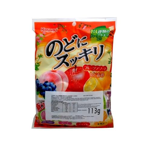 Bala japonesa Nodo Ame Frutas