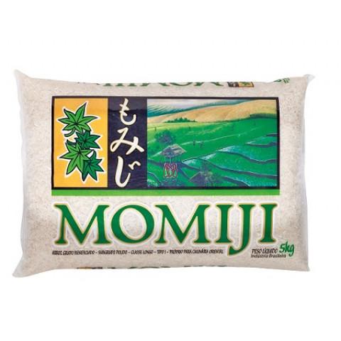 Arroz Culinária Japonesa Momiji 5kg