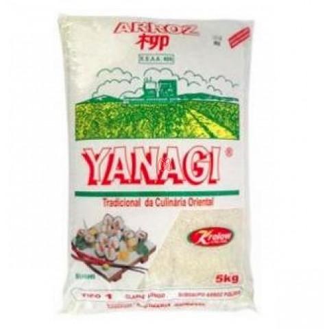 Arroz branco culinária oriental Yanagi 5kg