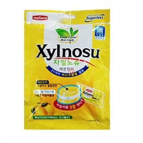 Bala Coreana de Limão e Xylitol