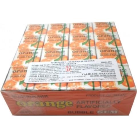 Chiclete de laranja Marukawa