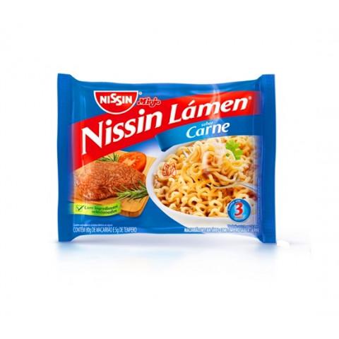 Nissin Lamen Carne