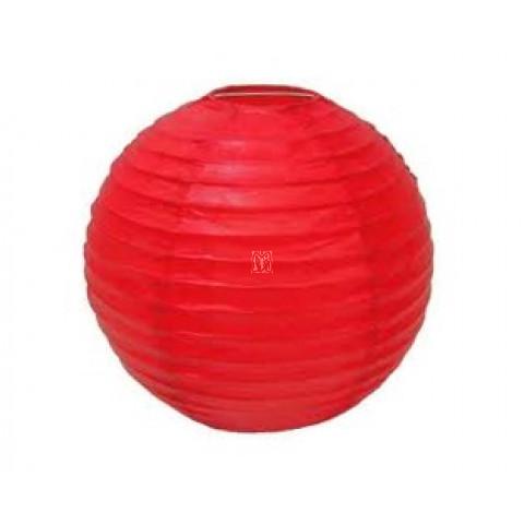 Lanterna oriental vermelha