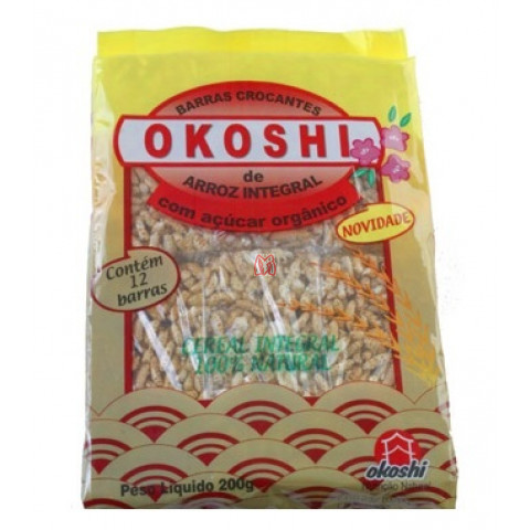 OKOSHI BARRA DE ARROZ INTEGRAL
