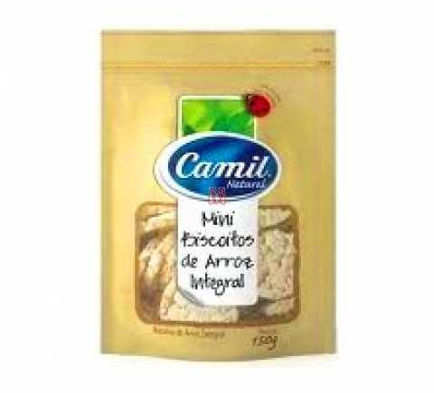 Biscoito de Arroz Camil