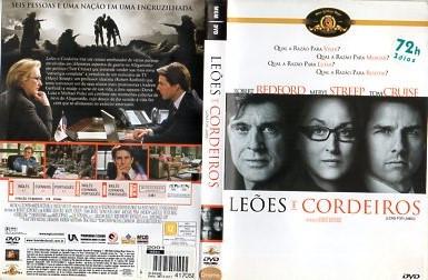 Leões e cordeiros - DVD original