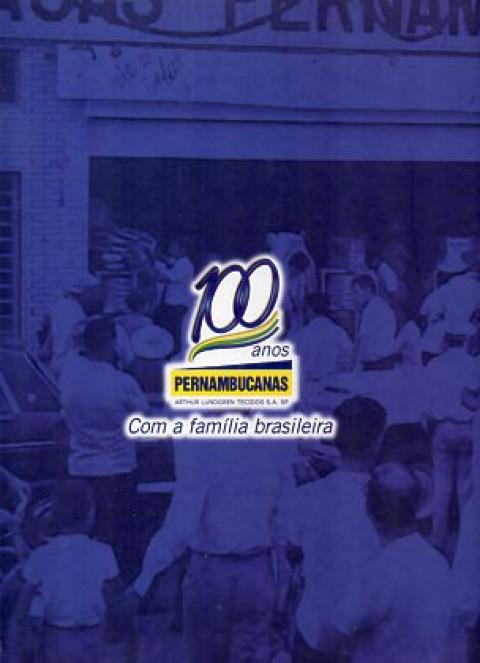 100 anos Casas Pernambucanas: com a família brasileira