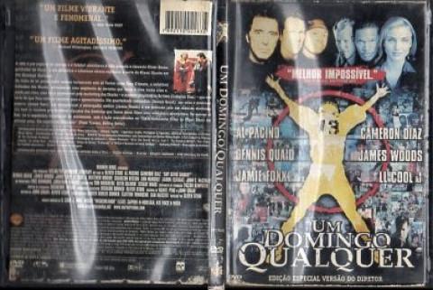 Um domingo qualquer - DVD original -  Duplo