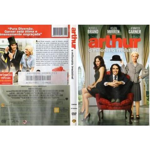 Arthur, o milionario irresistivel - DVD original