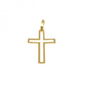 Crucifixo em Ouro 18k Maciço e Vazado