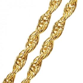 Pulseira Feminina Modelo Cordinha em Ouro 18k