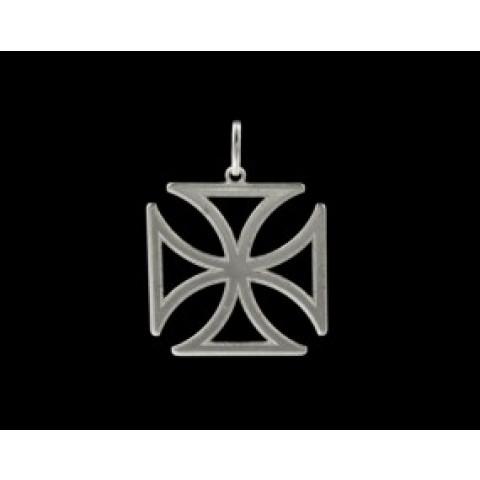 Cruz de Malta em Prata 925