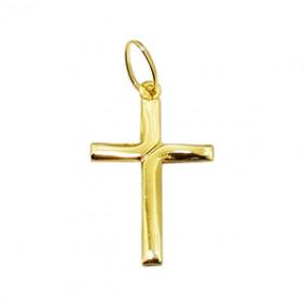 Pingente Crucifixo com detalhe em Ouro 18k