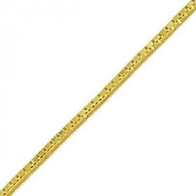 Tornozeleira Veneziana em Ouro 18k