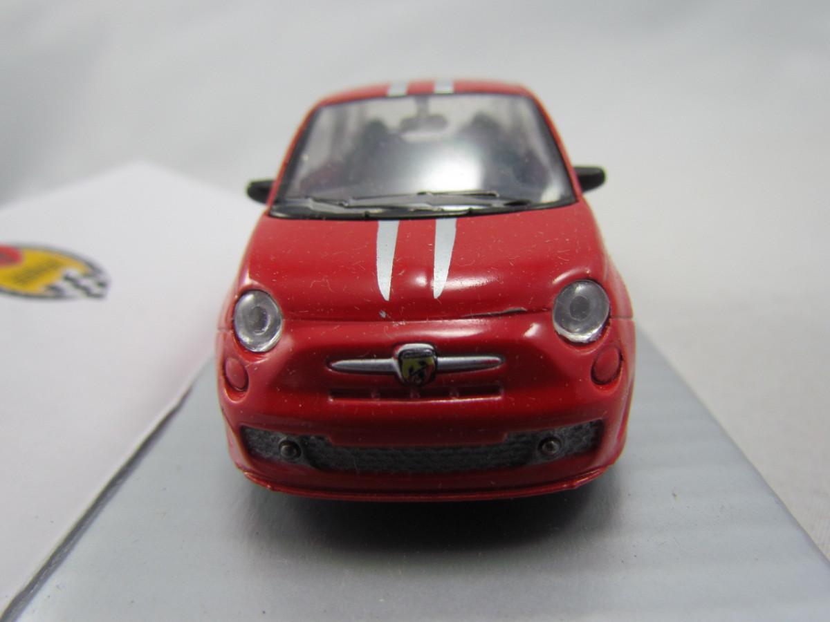 Fiat 500 Tributo Ferrari Vermelho Mondo Motors 1 43 Nau Pirata