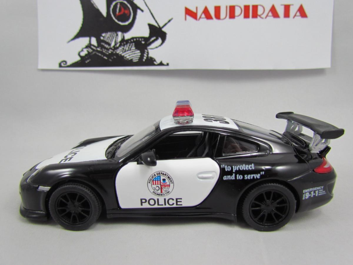 Porsche 911 Gt3 Rs Policia Kinsmart 1 46 Nau Pirata